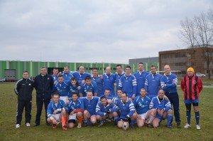 Equipe de rugby du CFA à la base 105 d'Evreux dans Rugby 2-equipes-rugby-300x198